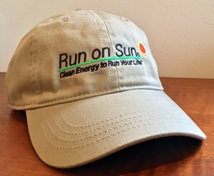 Get your Run on Sun baseball cap!