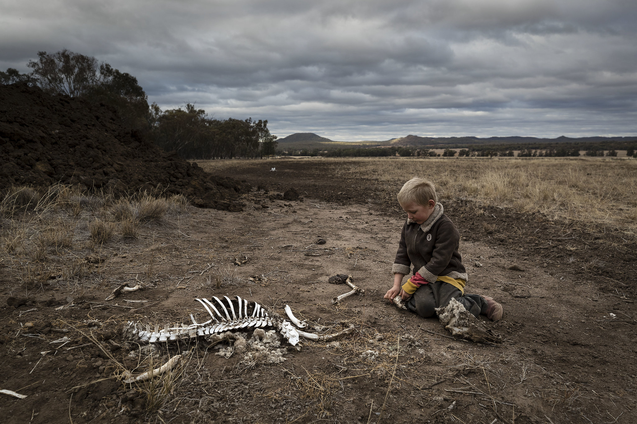 What will this child's future be in a rapidly warming world?