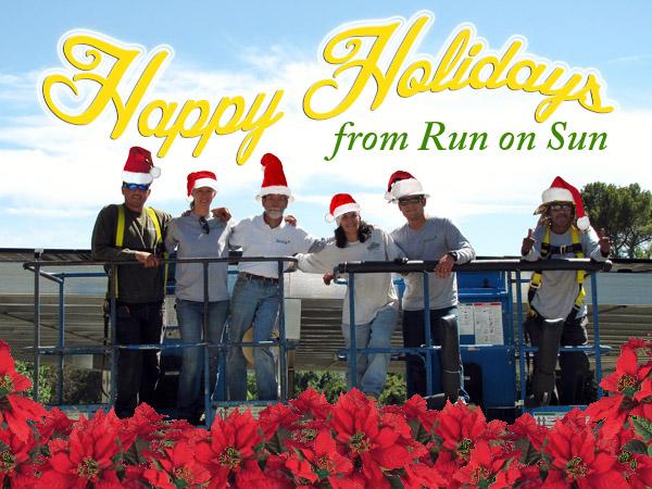 Happy Holidays from Run on Sun