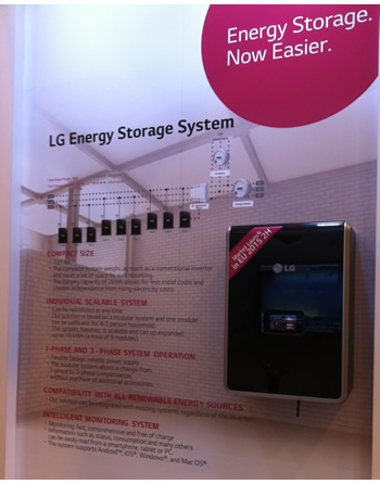 LG Residential storage offering