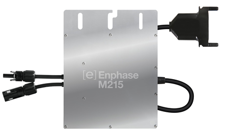 Enphase M215 with integrated grounding