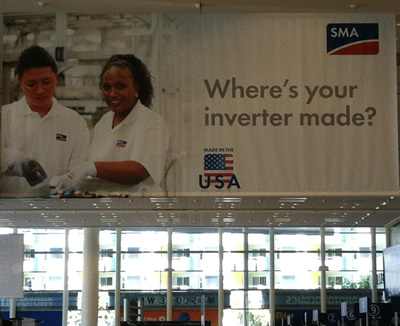 SMA touts made in the USA