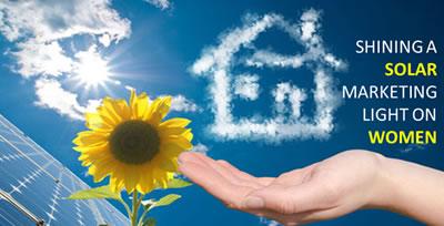 Shining a solar marketing light on women