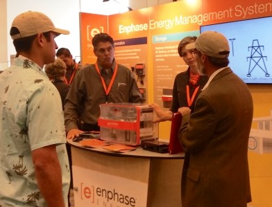 Enphase booth