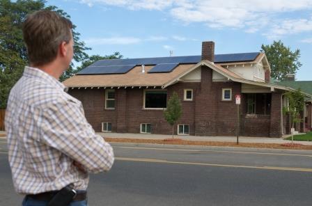 Public Domain NREL solar home image