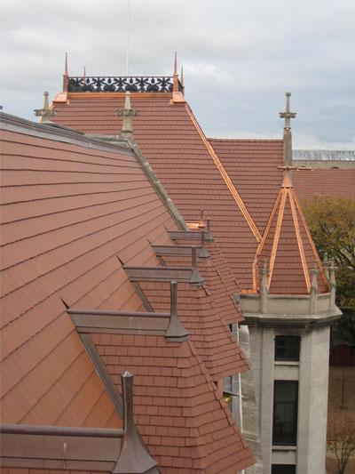 Steep Tile Roof
