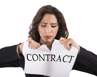 Frustrating solar contracts