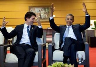 Obama and Trudeau