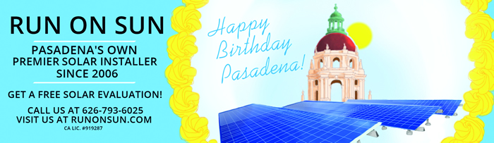 Happy Birthday, Pasadena!