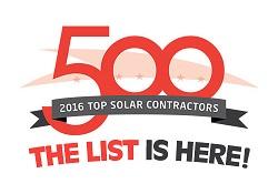 Solar Power World Top 500 Contractors