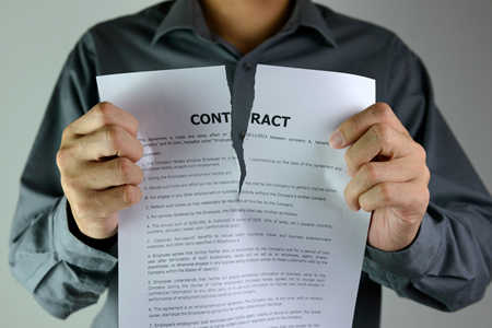 Tear up that contract