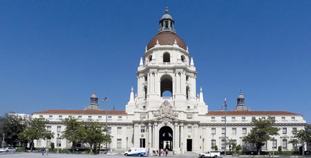 Pasadena City Hall - home to Run on Sun and Pasadena Solar