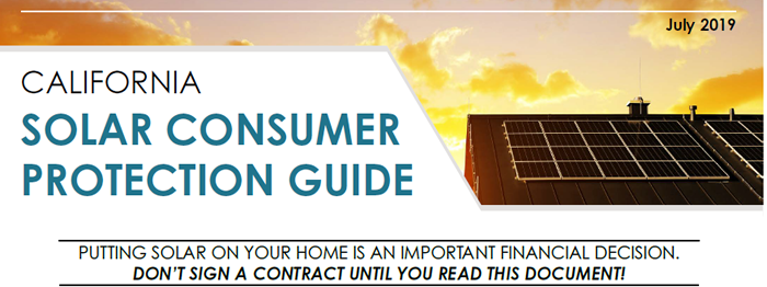 CPUC Solar Consumer Protection Guide
