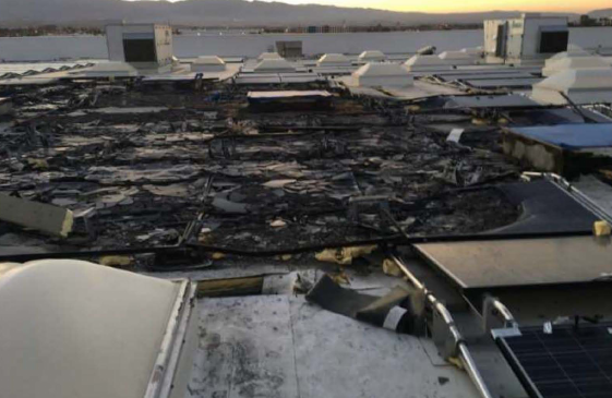 Fire at Walmart store allegedly caused by Tesla solar installation