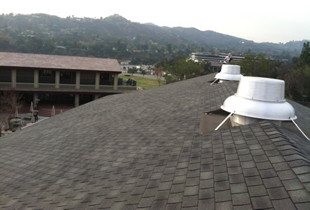 Chandler School roof