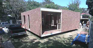 fluxHome in progress - click for live feed