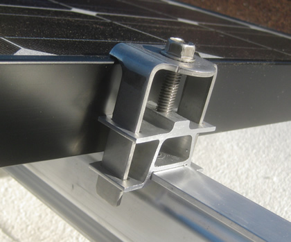 End-clamp solarmount Evolution