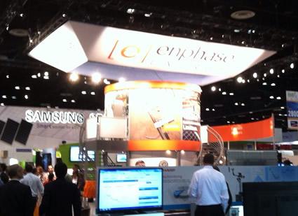 Enphase booth at SPI 2012