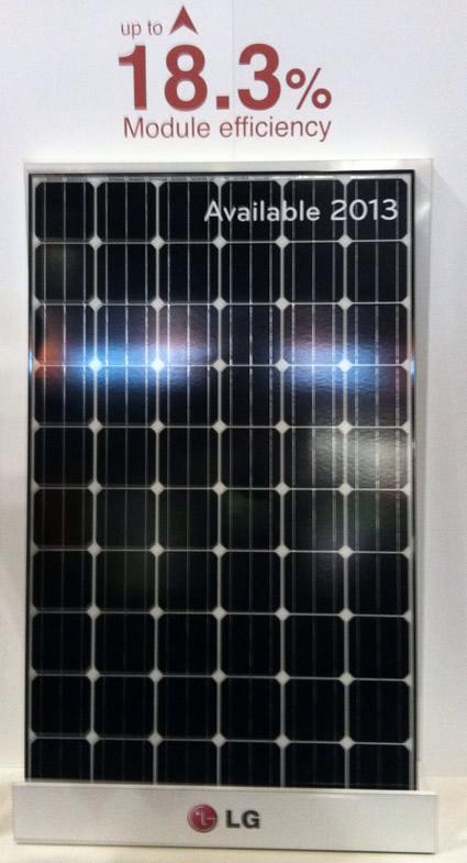 LG 300 Watt solar panel